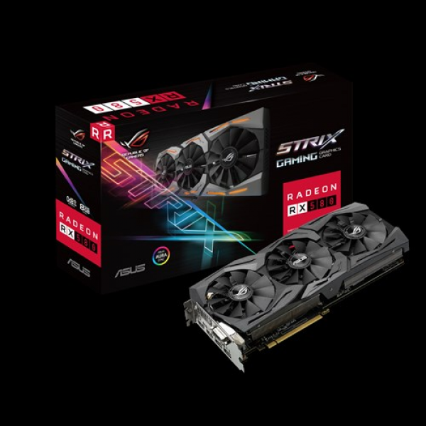 ASUS ROG-STRIX-RX580-8G-GAMING | Graphics Cards
