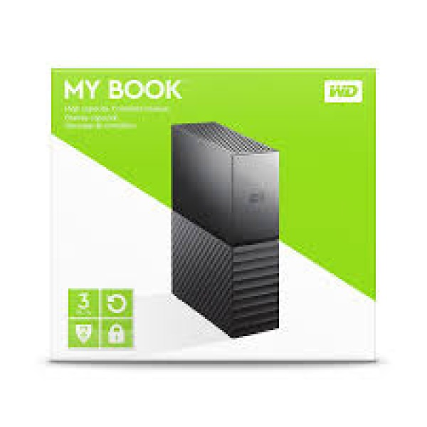 External HDD WD My Book 6TB USB 3.0 Size 3.5