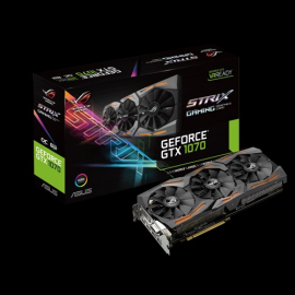 ASUS ROG GeForce GTX 1070 STRIX-GTX1070-O8G-GAMING 8GB 256-Bit